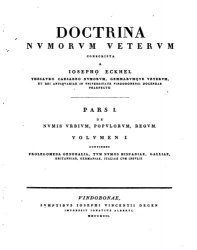 Doctrina nummorum veterum. Vol.I-VIII