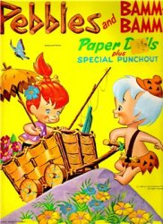 Pebbles and Bamm-Bamm Paper Dolls plus Special Punchout