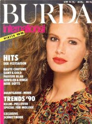 Burda International №4 1989-1990 Winter