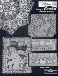 Crochet Tablecloth Designs by Elizabeth Hiddleson. Volume 48