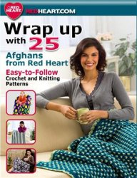 Wrap up with 25 Afghans from Red Heart