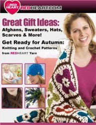 Get Ready for Autumn: Knitting and Crochet Patterns from Red Heart Yarn