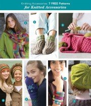 Knitting Accessories: 7 Free Knitting Patterns for Knitting Accessories