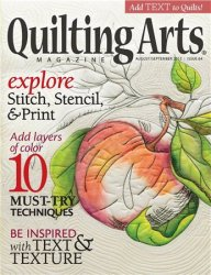 Quilting Arts �64 August/September 2013