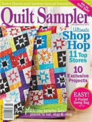 Better Homes and Gardens Quilt Sampler Magazine Spring/summer 2013