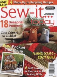 Sew-it Today October/November 2013