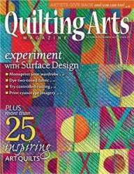 Quilting Arts Magazine October/November 2013
