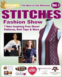 The Best of the Midwest STITCHES Fashion Show 7 Inspiring Free Shawl Patter ...