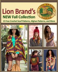 Lion Brands New Fall Collection: 15 Free Crochet Scarf Patterns Afghan Patt ...