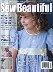Sew Beautiful - December 2013/January 2014