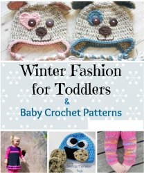 Winter Fashion for Toddlers Baby Crochet Patterns