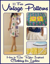 11 Free Vintage Patterns How to Sew Retro-Inspired Clothing for Ladies