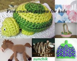 Free crochet pattern for kids