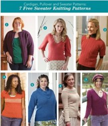 Cardigan, Pullover and Sweater Patterns