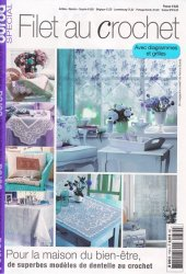 Burda special  E735 Filet au Crochet