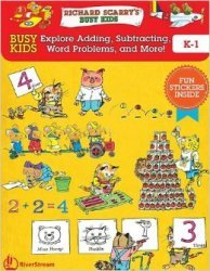 Busy Kids Explore Addition, Subtraction, and Word Problems! K-1