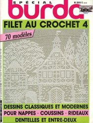 Burda special  E860 1983 Filet au crochet 4