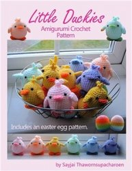 Little Duckies Amigurumi Crochet Pattern