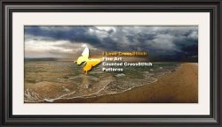 I love cross stitch AHN001 Seaside