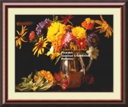 I love cross stitch EW-007 A Colorful Bunch 2