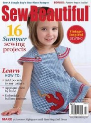 Sew Beautiful June / July 2014