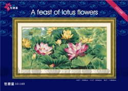 DOME №101105 А feast of lotus flowers