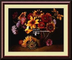 I love cross stitch EW-006 A Colorful Bunch