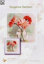I love cross stitch MK-003 Tangerin Gerbera