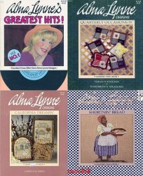 Alma Lynne - ALX034 Greatest Hits, ALX038 Quarterly Occasions IV NEM,  ALX042 California Dreamin,   ALX043 Shortnin Bread