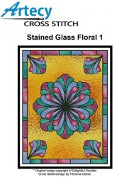 Stained Glass Floral 1
