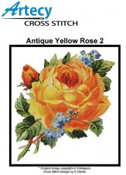 Antique Yellow Rose 2