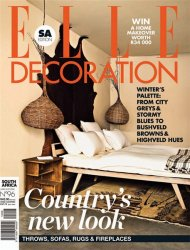 ELLE Decoration №7 (July 2014 / South Africa)