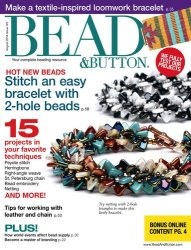 Bead & Button Issue 122 2014