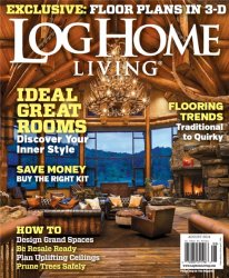 Log Home Living �8 (August 2014 / USA)