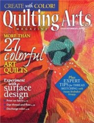 Quilting Arts Magazine №70 August/September 2014