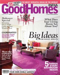 Good Homes №4 (July 2014 / India)