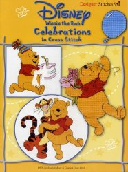 Winnie the Pooh. Celebrations  in Cross Stitch