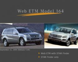 Mercedes Star Finder (Web ETM Model 164) v4.09
