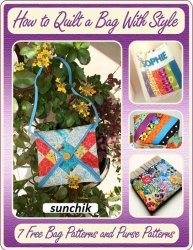 How to Quilt a Bag With Style: 7 Free Bag Patterns and Purse Patterns