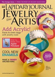 Lapidary Journal Jewelry Artist  September-October 2014