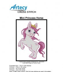Mini Princess Horse