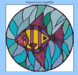 Stained Glass Angelfish