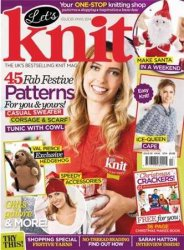 Let's Knit Single Issue Xmas Spec №14 2014