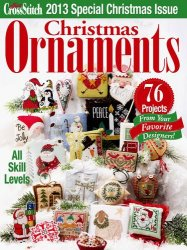 Just Cross Stitch Christmas Ornaments 2013
