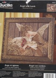 Bucilla 43731 Angel with Lamb
