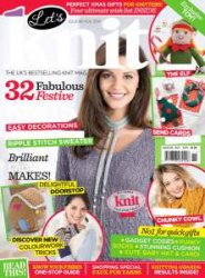 Let's Knit Single Issue №14  Nov 2014