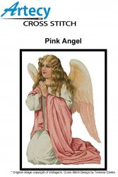 Artecy Cross Stitch - Pink Angel