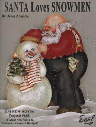 Santa loves snowmen