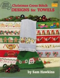 Christmas Cross Stitch  Designs for Towels �3506