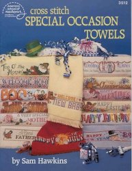 3512 Cross Stitch Special occasion towels